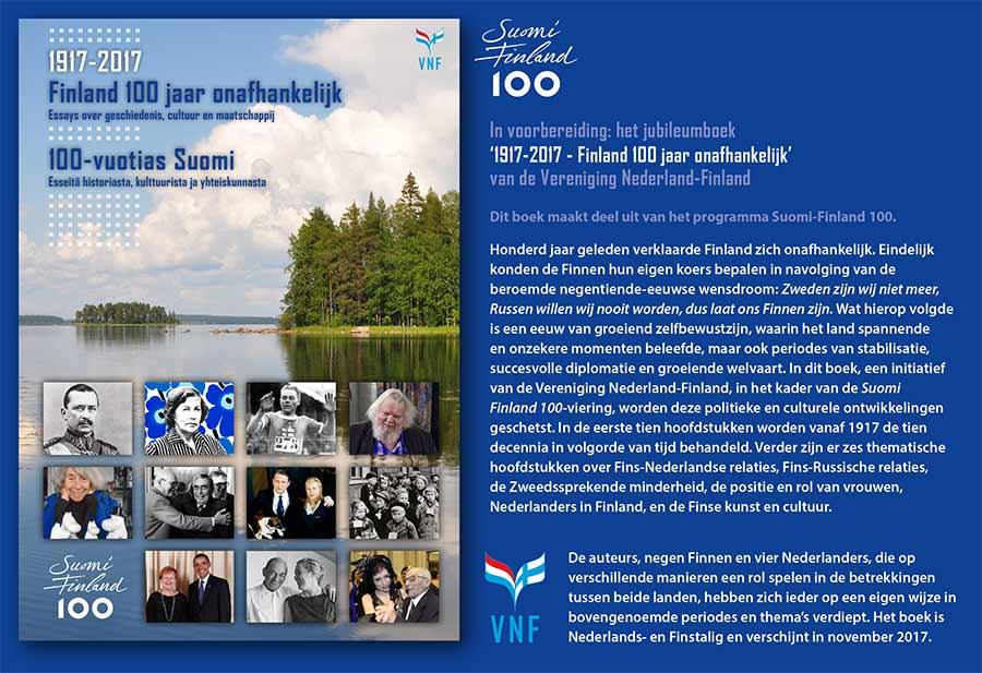 Finland 100 jaar jubileumboek