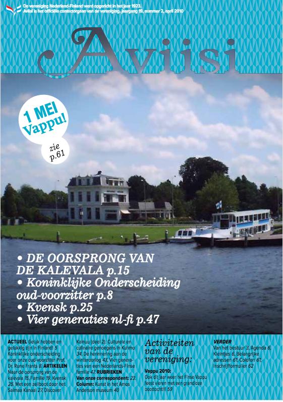 Verenigingsblad Aviisi 2010-2