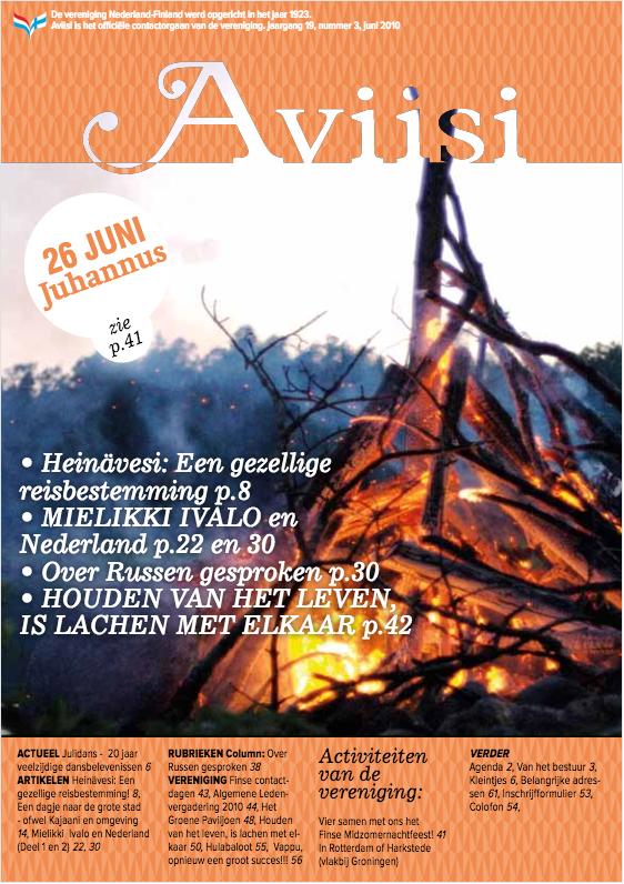Verenigingsblad Aviisi 2010-3