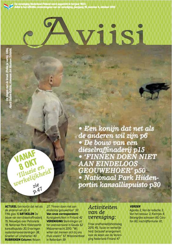 Verenigingsblad Aviisi 2010-4