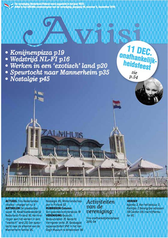 Verenigingsblad Aviisi 2010-5