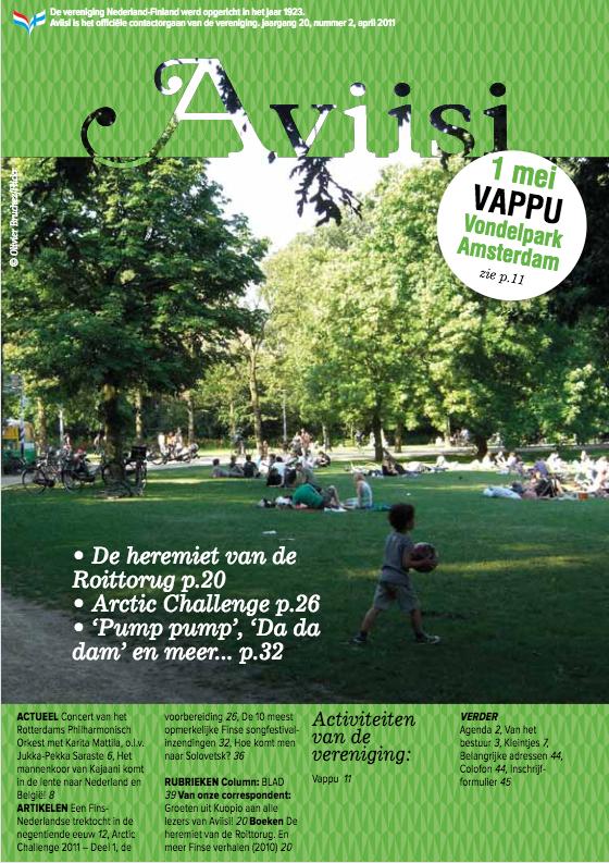 Verenigingsblad Aviisi 2011-2