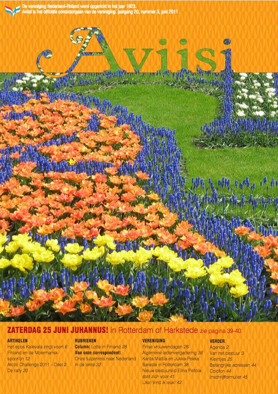 Verenigingsblad Aviisi 2011-3