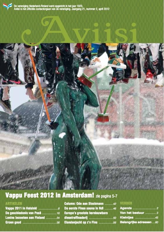 Verenigingsblad Aviisi 2012-2