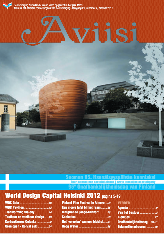 Verenigingsblad Aviisi 2012-4