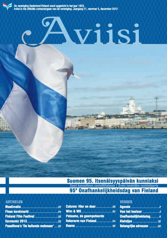 Verenigingsblad Aviisi 2012-5