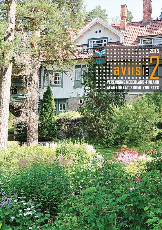 Verenigingsblad Aviisi 2015-2