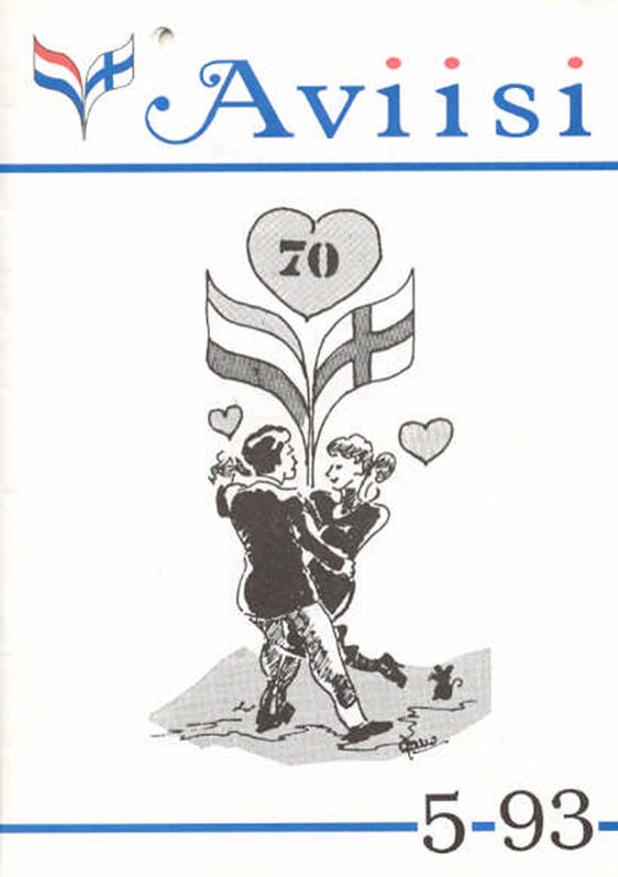 Verenigingsblad Aviisi 1993-5