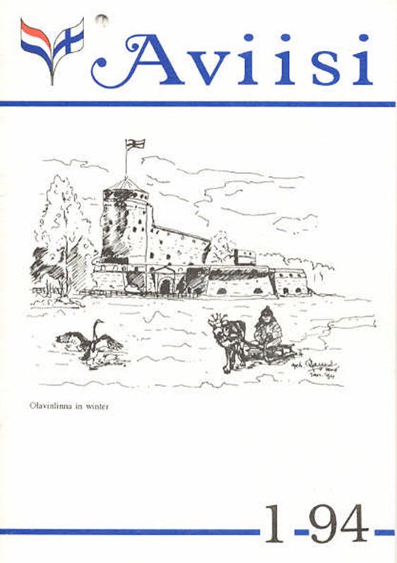 Verenigingsblad Aviisi 1994