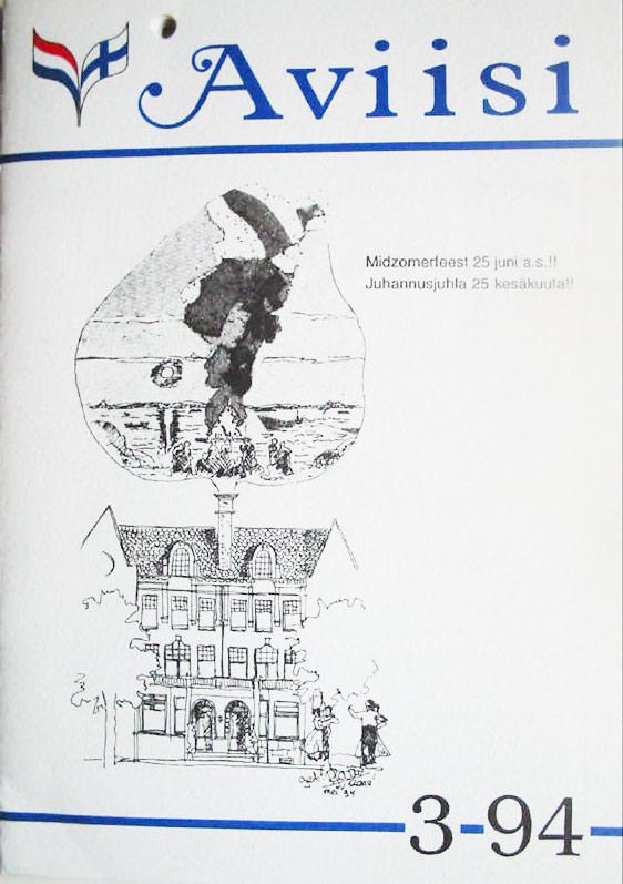 Verenigingsblad Aviisi 1994-3