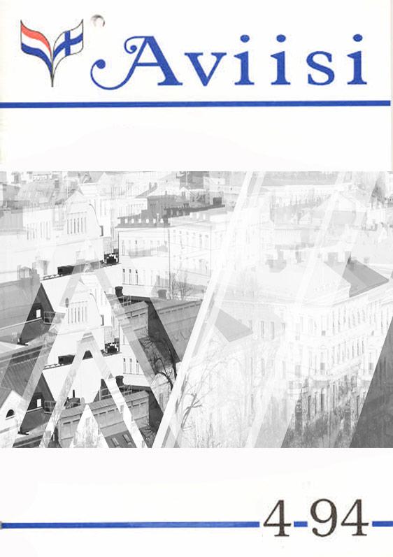 Verenigingsblad Aviisi 1994-4