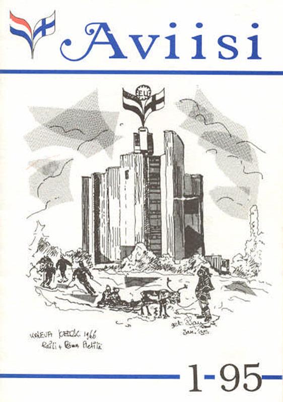 Verenigingsblad Aviisi 1995