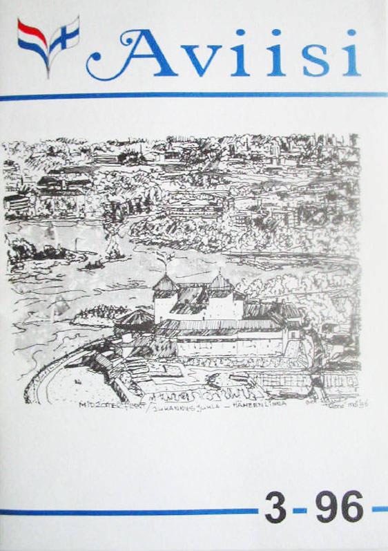 Verenigingsblad Aviisi 1996-3