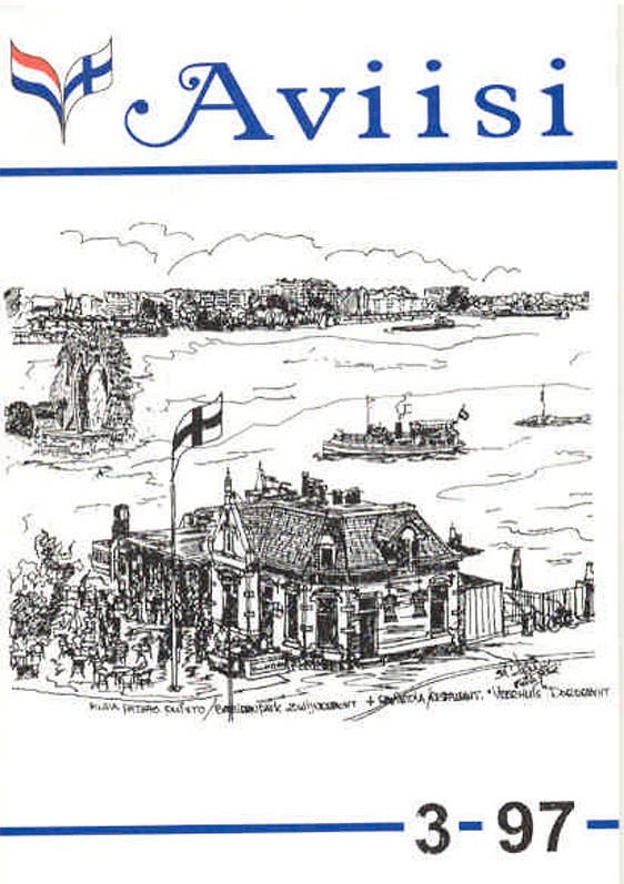 Verenigingsblad Aviisi 1997-3