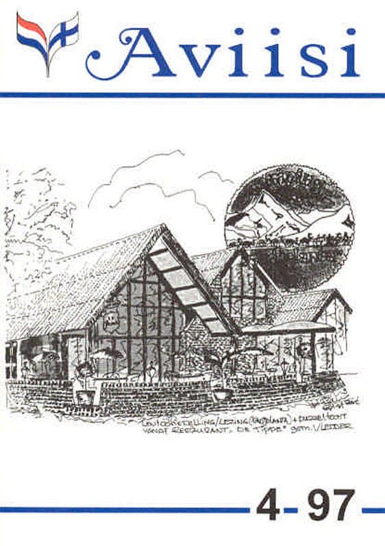 Verenigingsblad Aviisi 1997-4