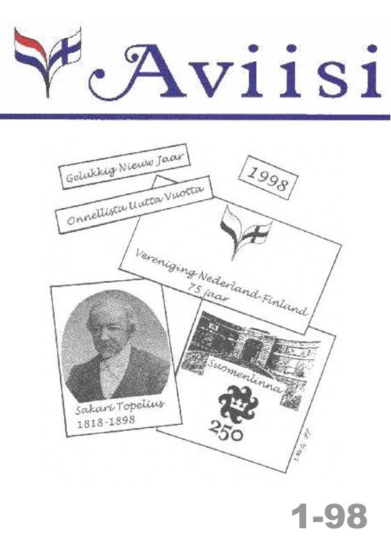Verenigingsblad Aviisi 1998