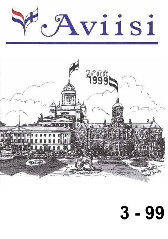 Verenigingsblad Aviisi 1999-3
