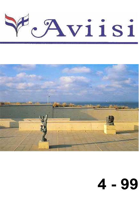 Verenigingsblad Aviisi 1999-4