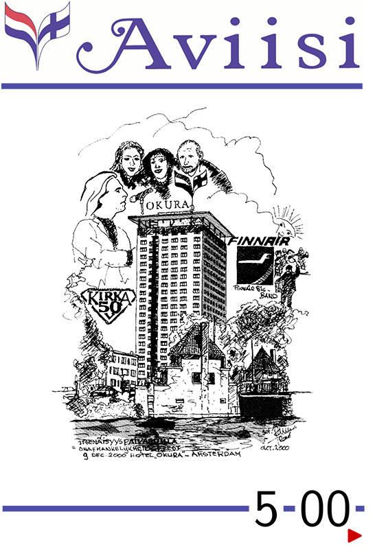Verenigingsblad Aviisi 2000-5