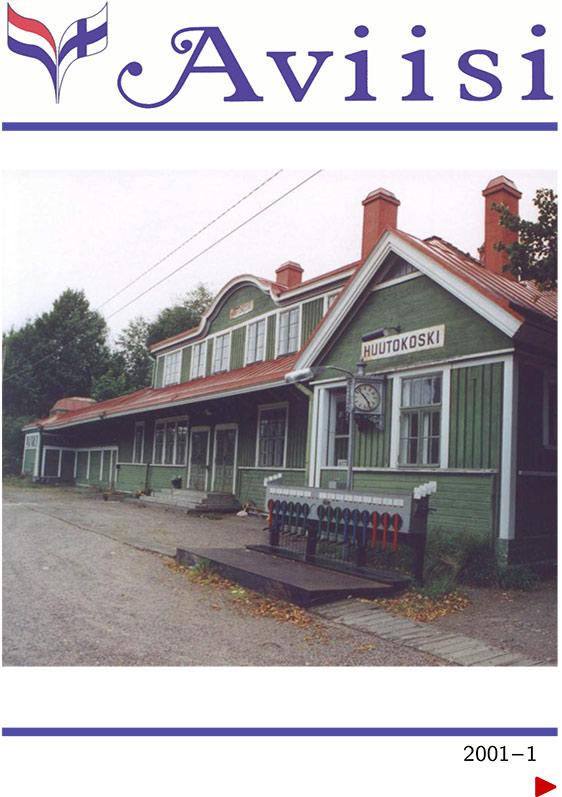 Verenigingsblad Aviisi 2001