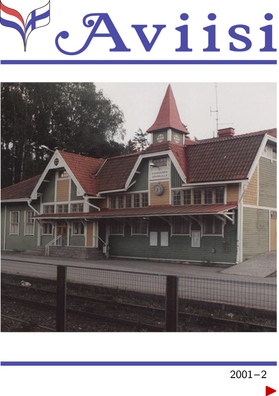 Verenigingsblad Aviisi 2001-2