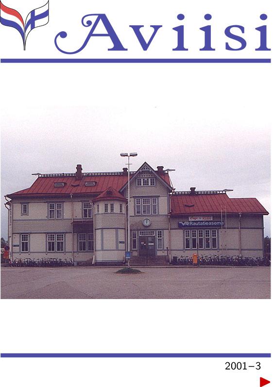 Verenigingsblad Aviisi 2001-3