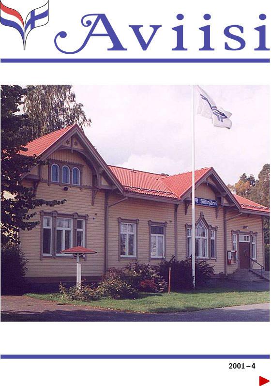 Verenigingsblad Aviisi 2001-4