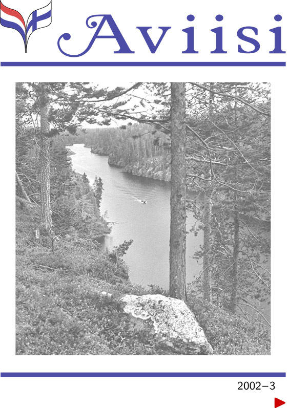 Verenigingsblad Aviisi 2002-3