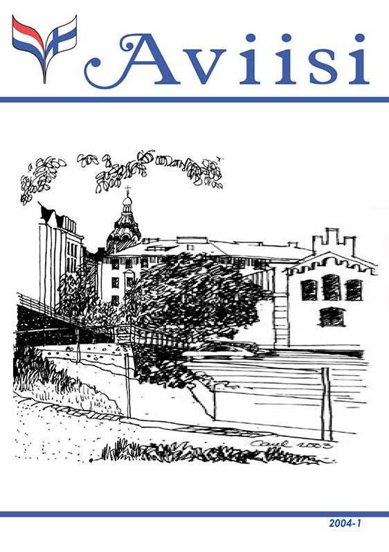 Verenigingsblad Aviisi 2004