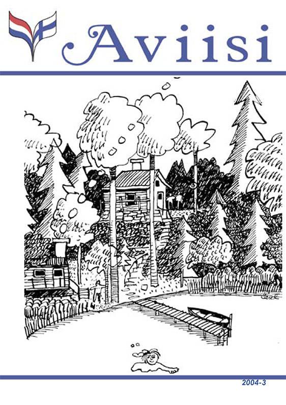 Verenigingsblad Aviisi 2004-3
