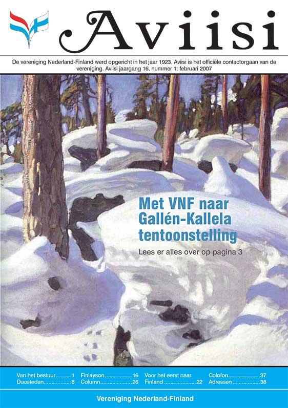 Verenigingsblad Aviisi 2007