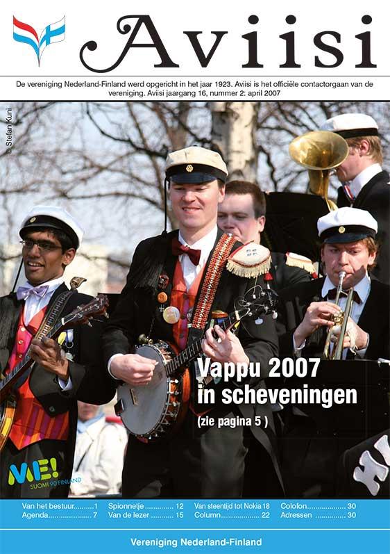 Verenigingsblad Aviisi 2007-2