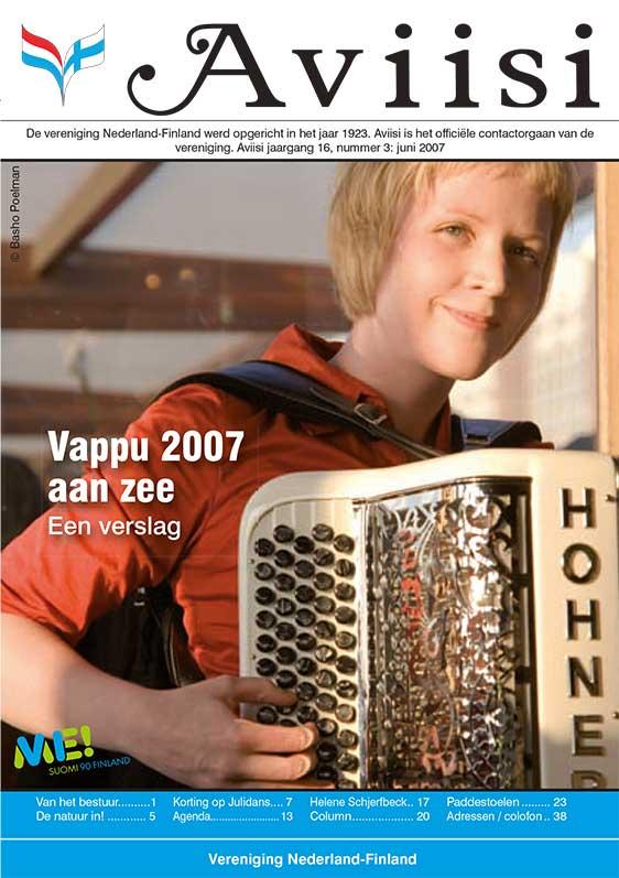 Verenigingsblad Aviisi 2007-3