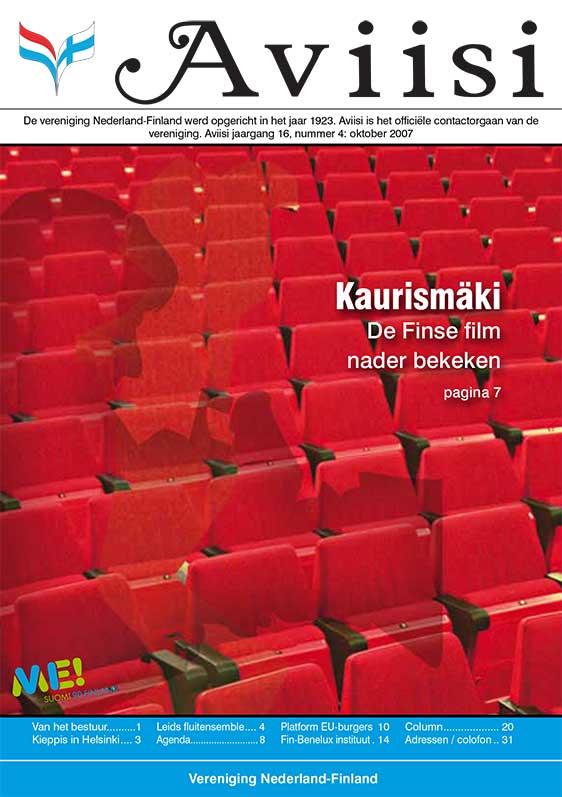Verenigingsblad Aviisi 2007-4