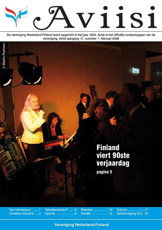 Verenigingsblad Aviisi 2008