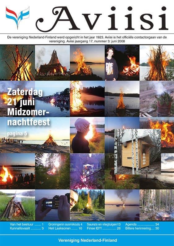 Verenigingsblad Aviisi 2008-3