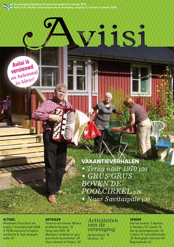 Verenigingsblad Aviisi 2008-4