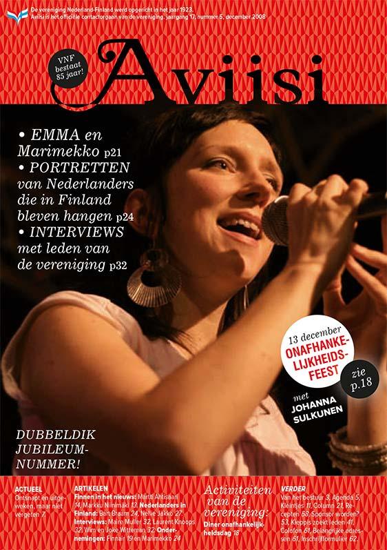Verenigingsblad Aviisi 2008-5