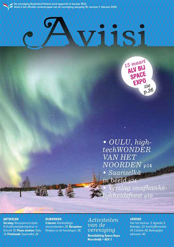 Verenigingsblad Aviisi 2009