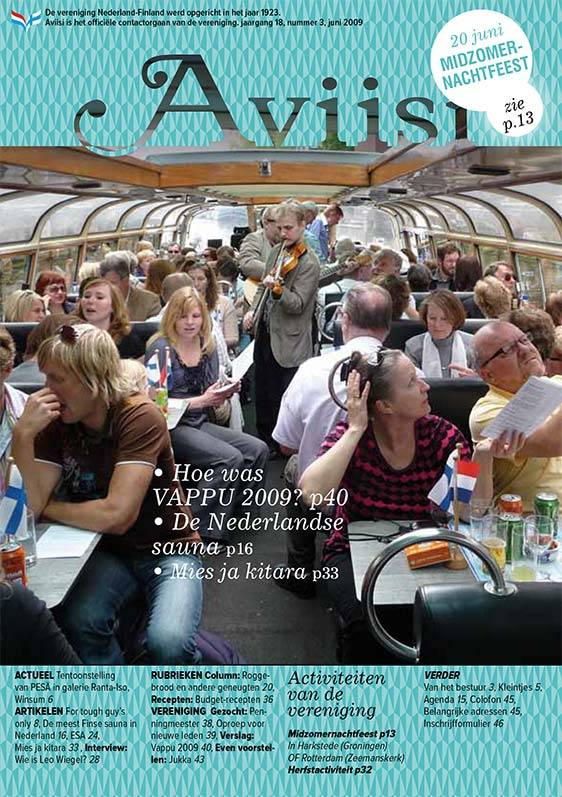 Verenigingsblad Aviisi 2009-3