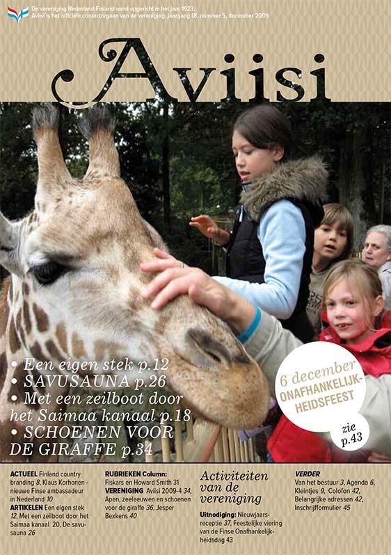 Verenigingsblad Aviisi 2009-5