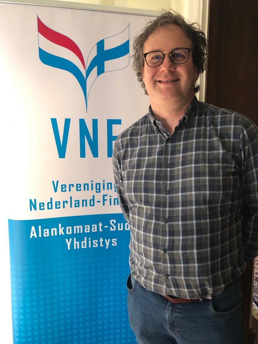 Nieuwe penningmeester VNF Wouter Winkelman