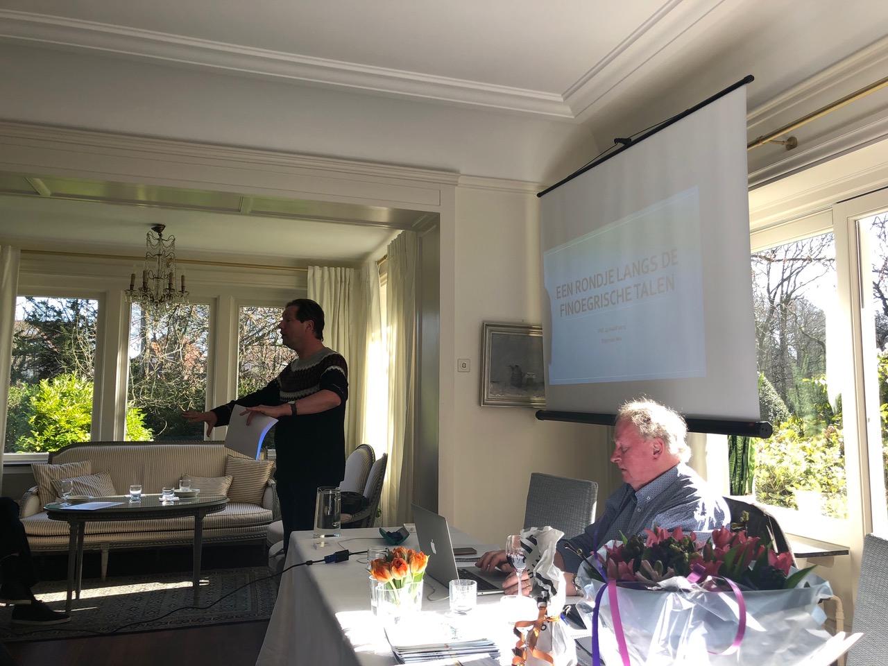 Frans van Nes over Finoegristiek en de Finoegrische talen