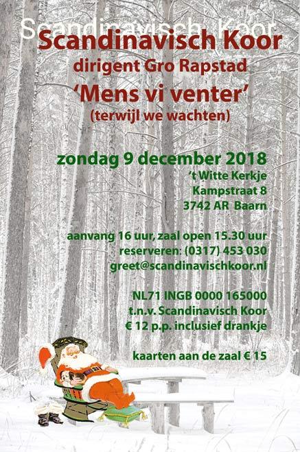 Kerstconcert Scandinavisch Koor
