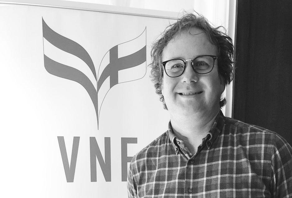 Voorzitter VNF Rune Frants