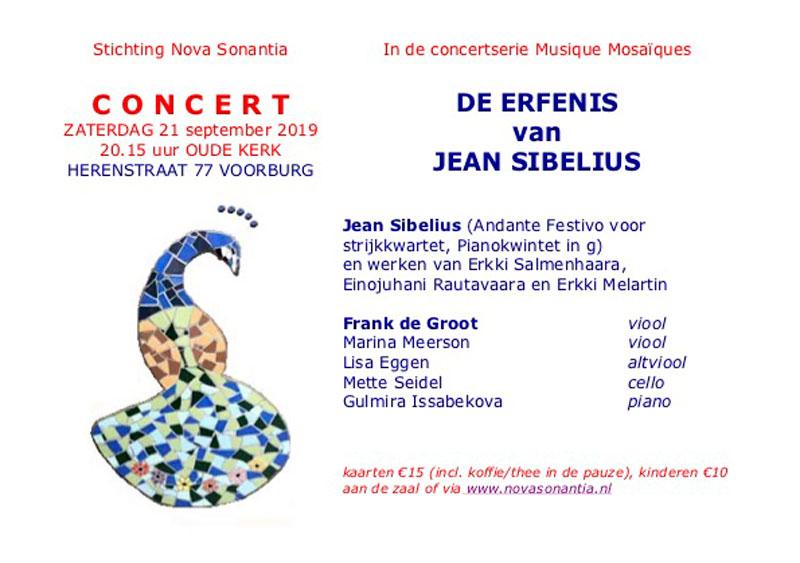Werken van Jean Sibelius