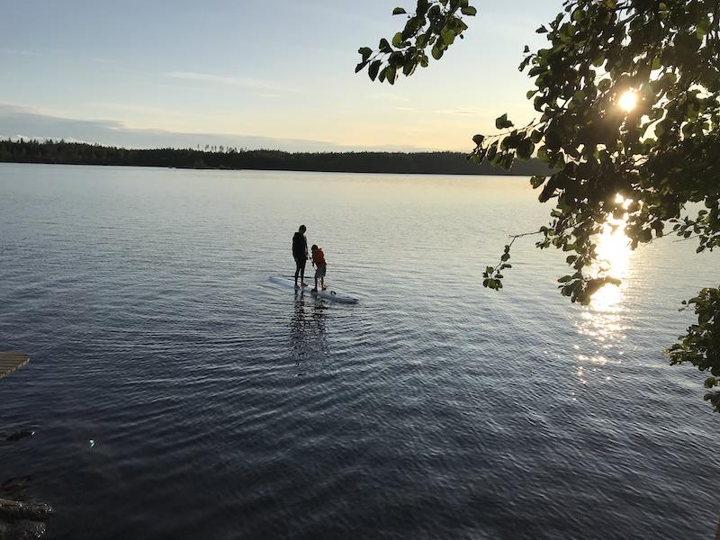 Subben around  Saima lake
