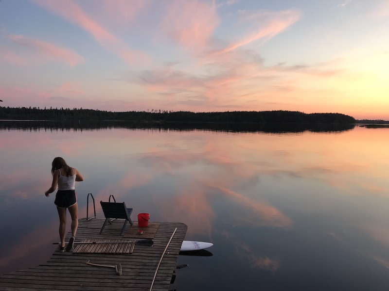 Saimaa lake end of August 2019