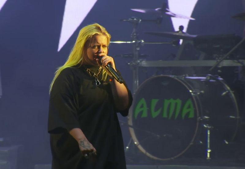 Finse zangeres ALMA