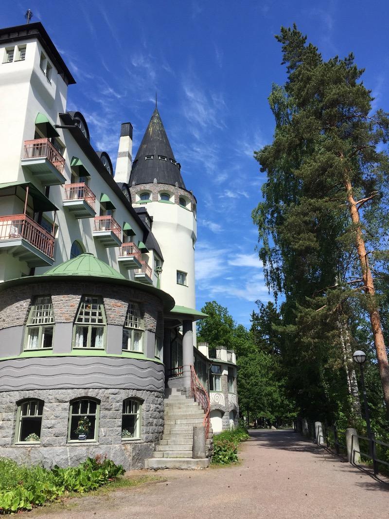 Hotel-Castle in Imatra Finland